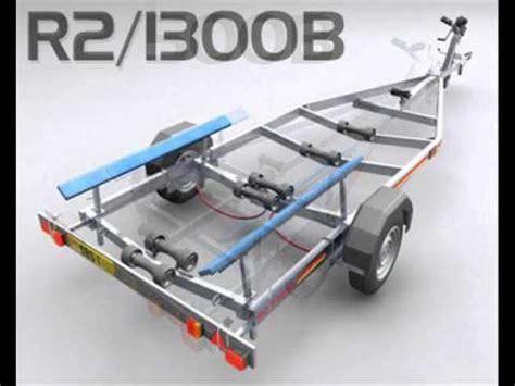 sbs boat trailers sbs bunk trailers youtube
