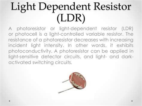 physics project on light dependent resistor for class 12 light dependent resistor project class 12 28 images arduino basics arduino uno photocell