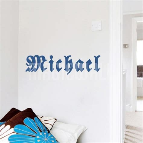 personalized name wall stickers wall stickers personalized boy name wall decals canada