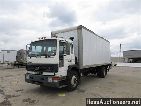 volvo trailer for sale used 1996 volvo fe 42 box van truck for sale in pa 24034