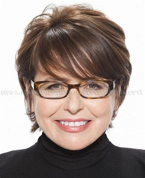 Hairstyles 2017 50 With Glasses by 15 Best Collection Of Hairstyles For 50
