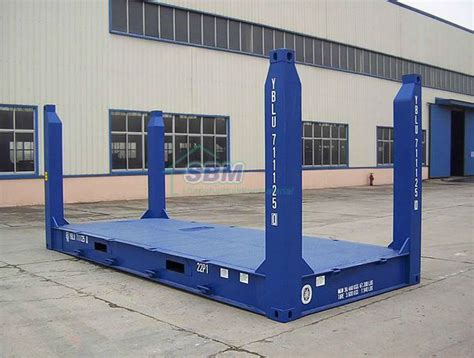 Open Rack Container by Sea Container Open Side Open Top Bulk Platform