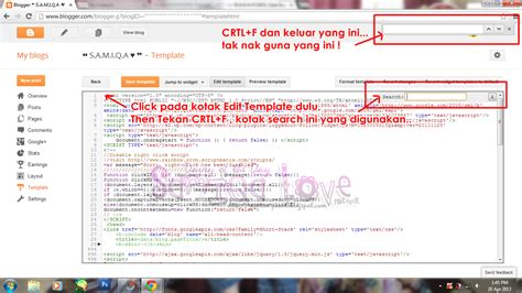 tutorial cara guna new edit html template
