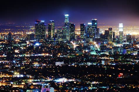 los angeles street lights the city of los angeles and philips lighting pilot new