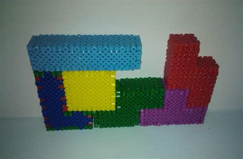 how to make 3d perler 3d tetris blocks perler by undertakoshi on deviantart