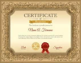 gold certificate template luxury golden certificate template vector vector cover