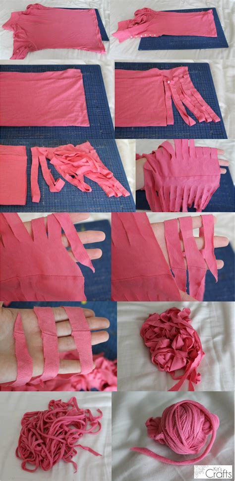 t shirt craft projects t shirt yarn tutorial kit s crafts