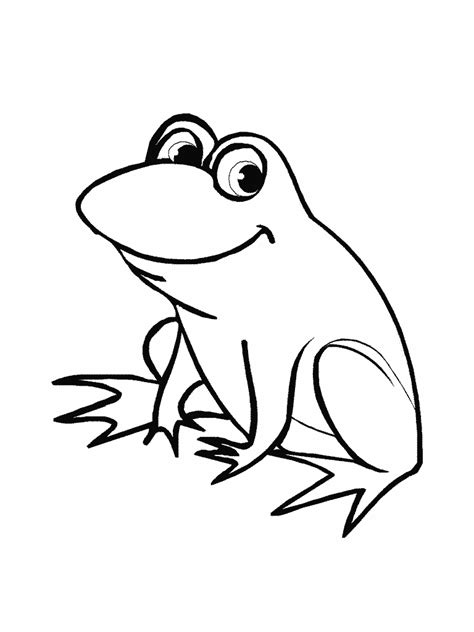 Coloring Page Of A Frog Frog Coloring Pages 2 Coloring Pages To Print by Coloring Page Of A Frog