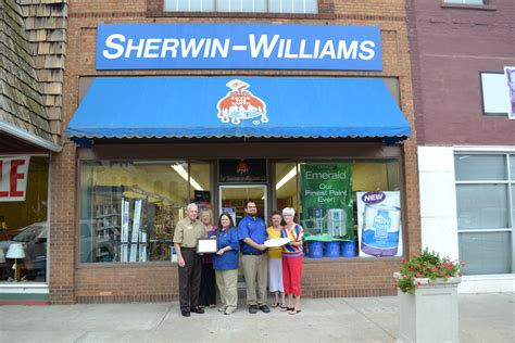 sherwin williams happy 55th anniversary sherwin williams clintonmochamber