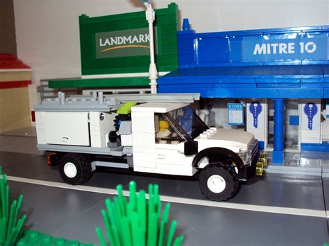 Mitre 10 Plumbing by Moc Plumbers Ute Lego Town Eurobricks Forums