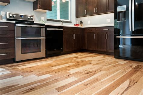 natural hickory floor kitchen natural hickory flooring in kitchen brew home