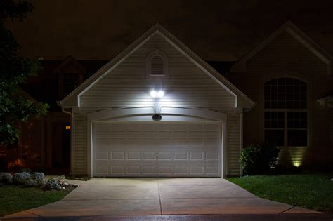 led garage and driveway lighting garage and shed st