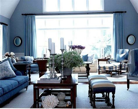 Living Rooms In Blue by 20 Blue Living Room Design Ideas