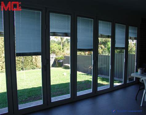 glass inserts for garden doors garden glass folding door with blinds insert view garden