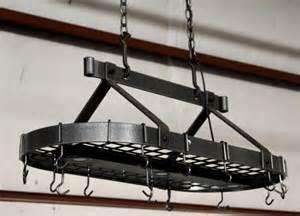 Cooking Pan Hanging Rack Enclume Kitchen Pots Pan Hanging Rack Lot 423
