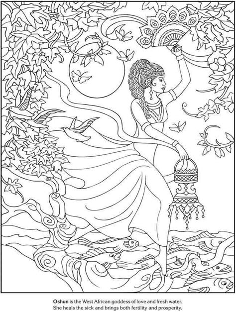 goddess coloring books pinterest goddesses