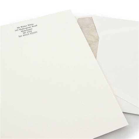 premium writing paper raised print premium writing paper by able labels