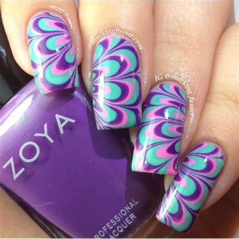 nail art tutorial in water 57 beautiful marble nail art design ideas
