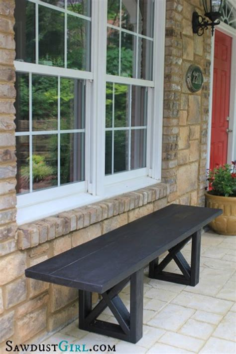 x bench diy curb appeal on a budget home decor ideas