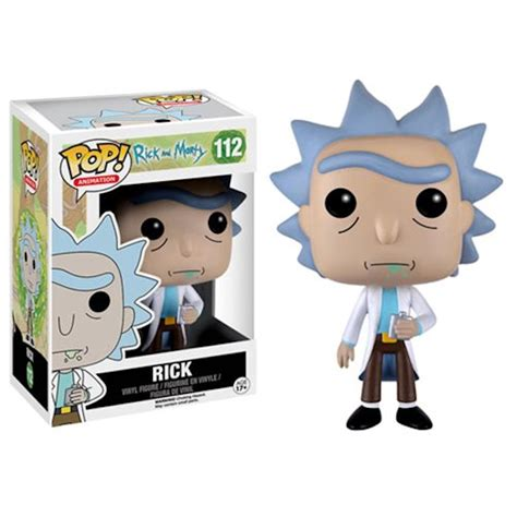 Funko Pop Original Rick And Morty Tinkles With Ghost In A Jar rick and morty funko pops mightymega