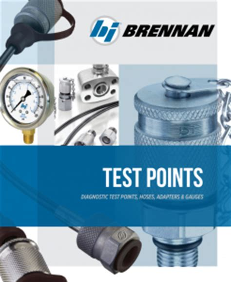 Hydraulic Manifold Tester Cover Letter by Brennan Industries Extraordinary Hydraulic Fittings And Adapters
