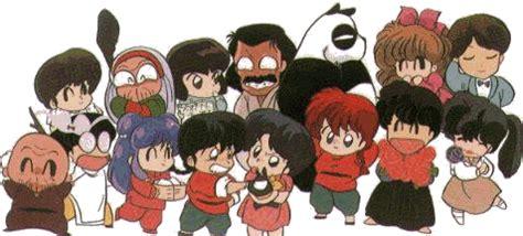 llorando los personajes de ranma 1 2 galera de personajes