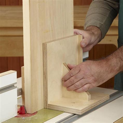 woodworking fixtures router table pushblock woodworking plan from wood magazine