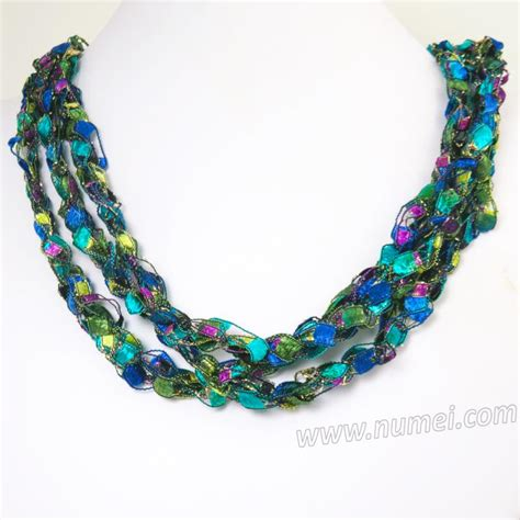 Handmade Ribbon - handmade ribbon necklace eg84107