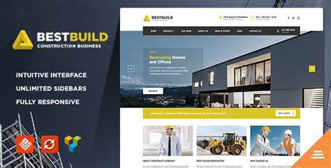 bestbuild construction wordpress theme