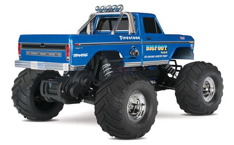 wheels bigfoot truck traxxas quot bigfoot 1 quot original rtr 1 10 2wd