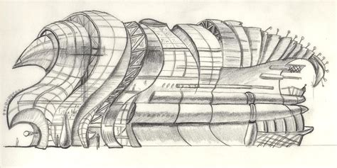 make architectural drawings concept sketch of armadillo modern architecture shopping