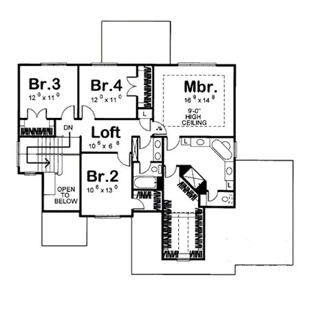2610 square feet 3 bedrooms 2 189 batrooms on 2 levels mediterranean style house plan 4 beds 2 5 baths 2610 sq