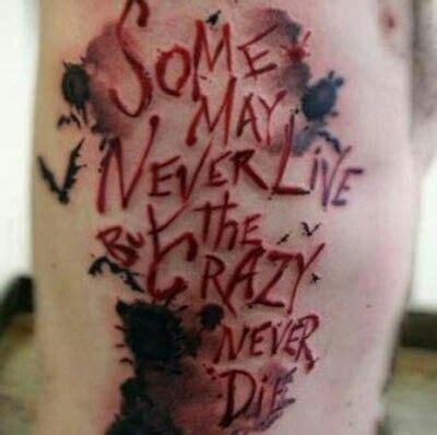 tattoo quebec pharmacie joker quote tattoo tattoo ideas pinterest jokers