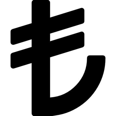 lire format eps turkish lire symbol free commerce icons