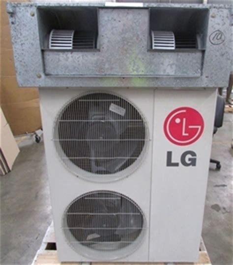 lg ceiling duct type split system air conditioning unit