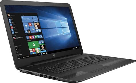 Laptop Ram 4gb Hdd 1tb hp 17 x121dx 17 3 quot laptop intel i5 4gb memory 1tb drive black windows laptop