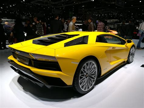 Lamborghini Autos Parent Company Lamborghini To Showcase Aventador S At Motor Show