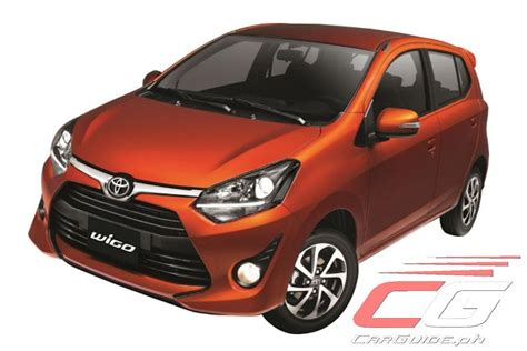 toyota philippines toyota motor philippines refreshes wigo for 2017 w specs