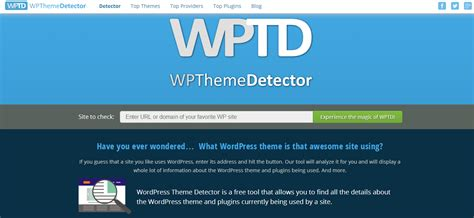 detector de themes wordpress know what wordpress theme is being used theme detector