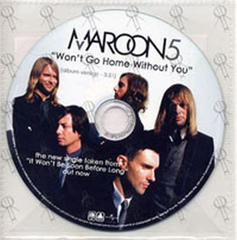 maroon 5 won t go home without you cd records