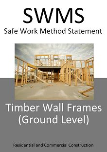swms timber wall framing ground level