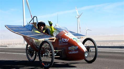 Solar Powered Cruise Cars Use The Sun On The Golf Course by Chasing The Sun At Chile S Solar Atacama Rally News