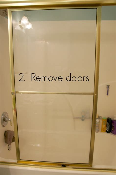 How To Remove Shower Glass Doors Shower Door Removal
