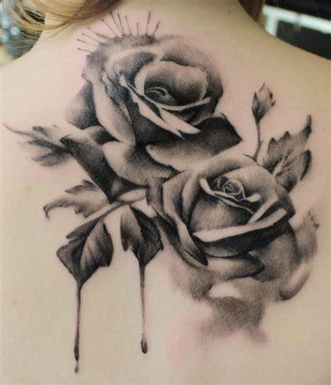 melting rose tattoo roses melting floral tattoos tattoos