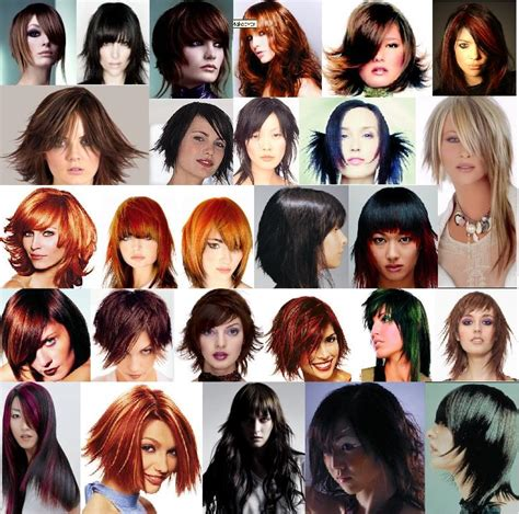Pictures Of Different Hairstyles hair styles different hair styles