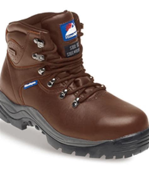 Sepatu Pichboy Boots 10 Brown Safety 4 himalayan 5201 brown leather fully waterproof safety boots rubber sole steel midsole 5201