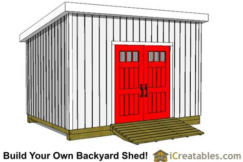 10x20 Storage Shed Plans Free by 10x14 Lean To Shed Plans Icreatables
