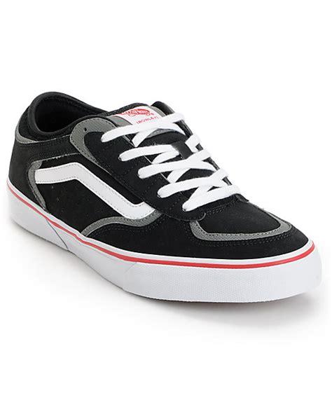 Jual Vans Rowley Pro vans rowley pro black white skate shoes mens at zumiez pdp