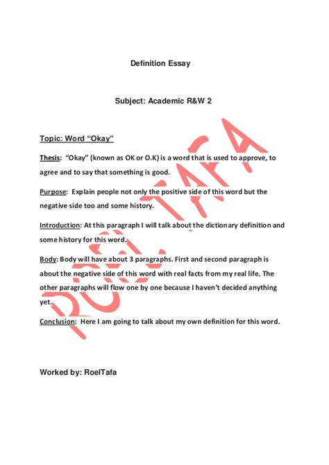 Writing Definition Essay by College Essays College Application Essays Word Definition Essay