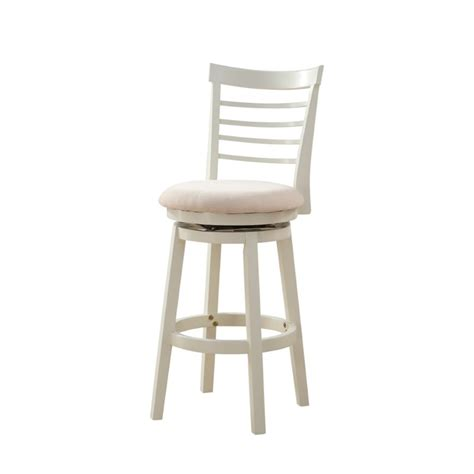 Powell Swivel Bar Stools by Powell Furniture Harbour 30 Swivel Bar Stool In White